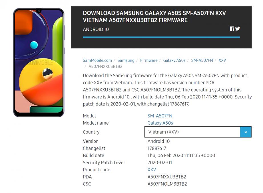 2020-02-14 14_01_35-Download Samsung Galaxy A50s SM-A507FN XXV Vietnam A507FNXXU3BTB2 firmware.png